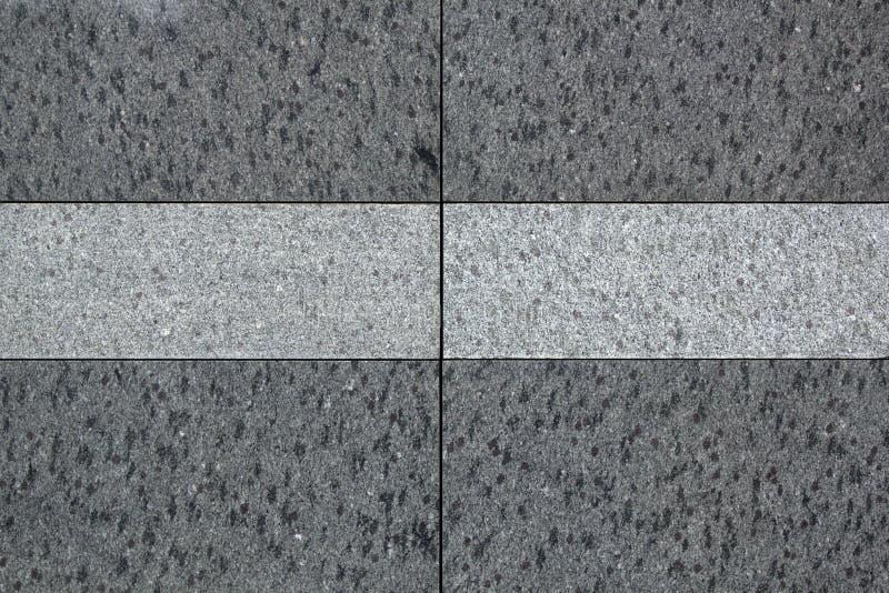 Die Beschaffenheit von festen Granitfliesen Harte und glatte graue Granitoberfläche stock abbildung