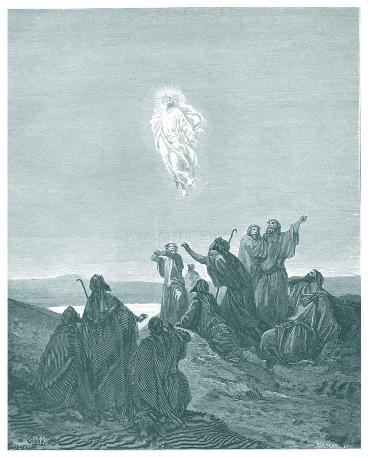 Die Besteigung von Jesus