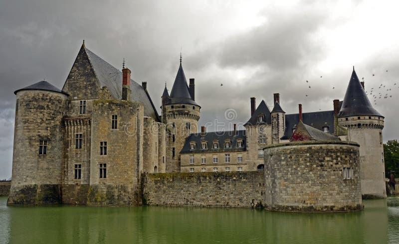 Die Besudelte-sur-Loire lizenzfreie stockfotos