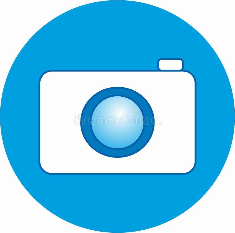 Die Bezeichnung der Fotoikone auf sozialen Netzwerken stockbild