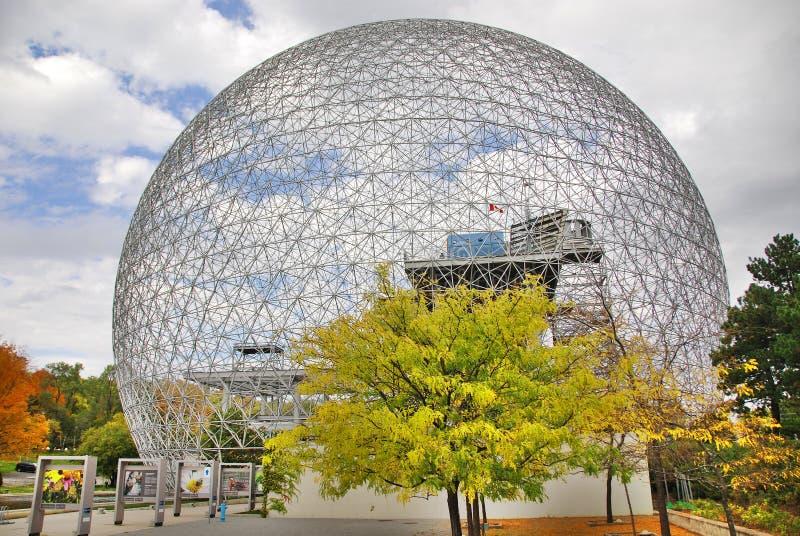 Die Biosphäre stockfoto