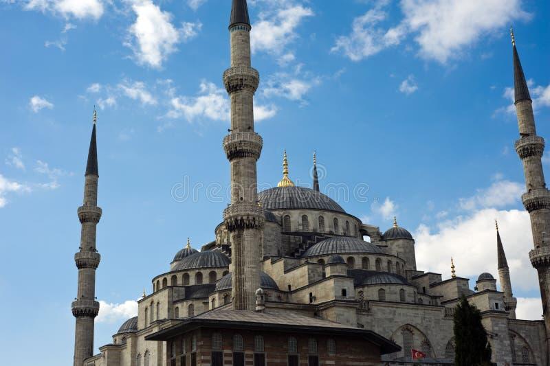 Die blaue Moschee lizenzfreie stockbilder