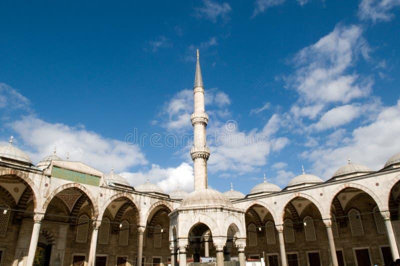 Die blaue Moschee stockfoto