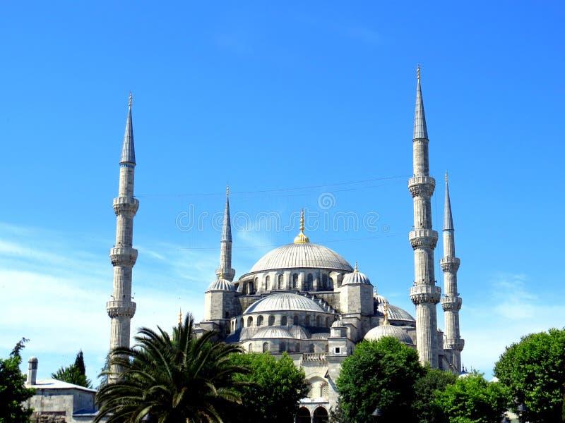 Die blaue Moschee, Istanbul stockfotografie