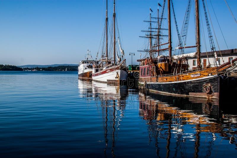 Die Boote stockfotos