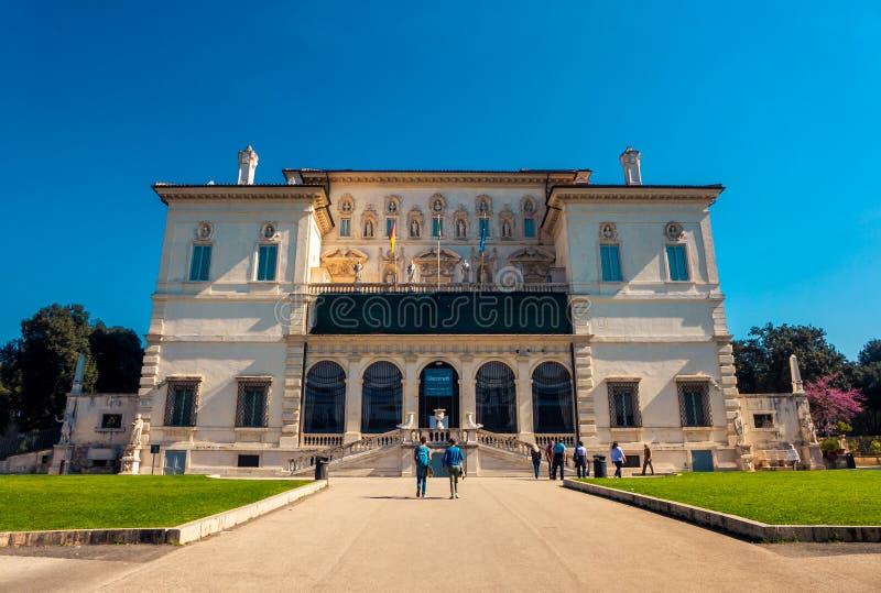 Die Borghese-Galerie in Rom, Italien stockfoto