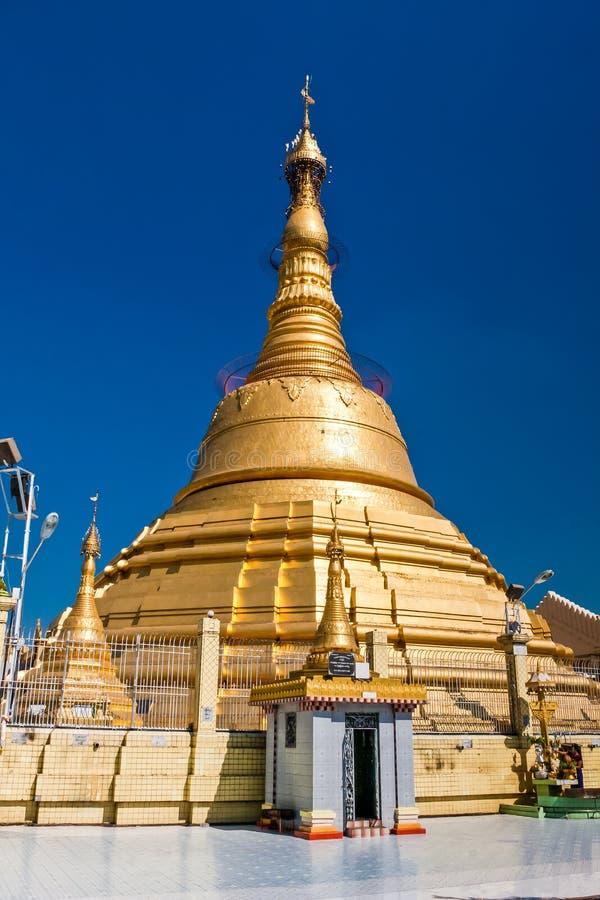 Die Botahtaungs-Pagode, Rangun, Myanmar lizenzfreie stockfotografie