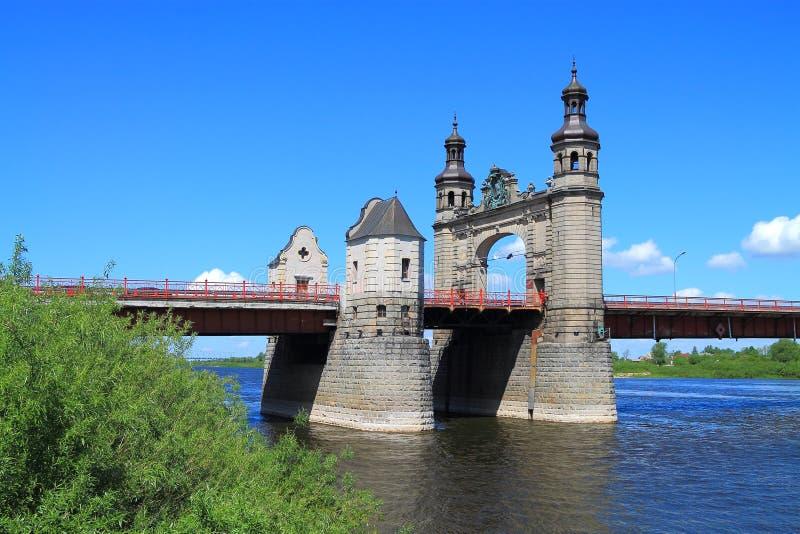Die Brücke der Königin Louise stockfotografie