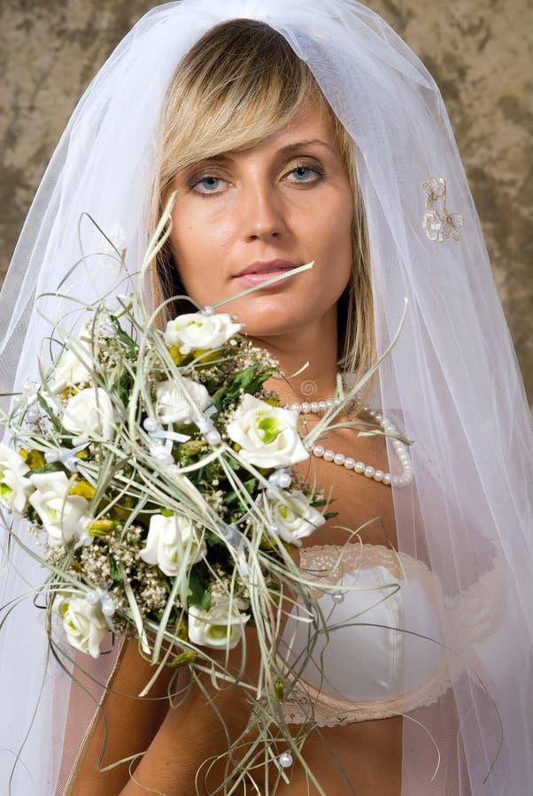 Die Braut lizenzfreies stockfoto