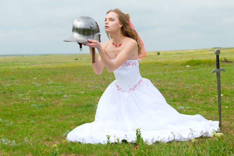 Die Braut stockfoto