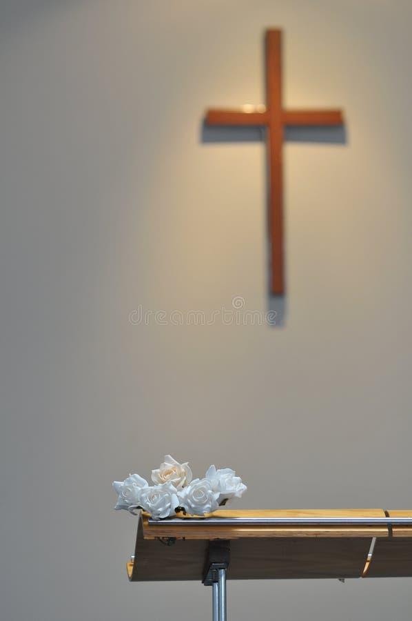 Die Braut mit einer Blume lizenzfreies stockfoto