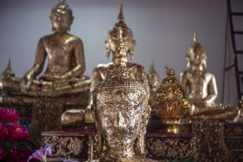 Die Buddha-Statue stockfoto