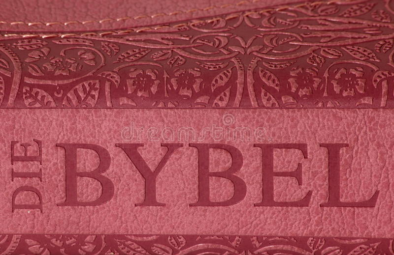 Die Bybel royalty free stock photography