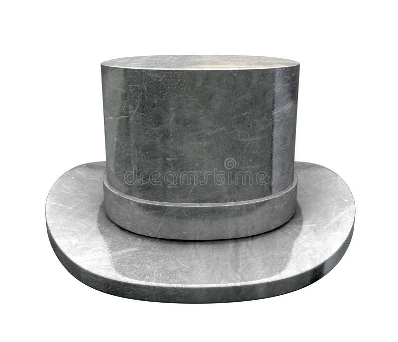 Die-cast κορυφαίο καπέλο στοκ φωτογραφίες με δικαίωμα ελεύθερης χρήσης