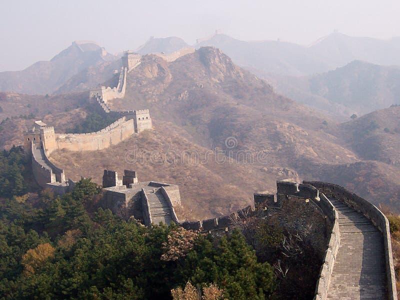 Die Chinesische Mauer von China lizenzfreie stockfotografie