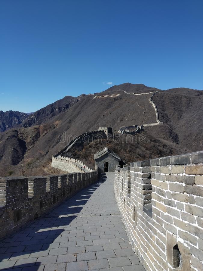 Die Chinesische Mauer lizenzfreie stockbilder