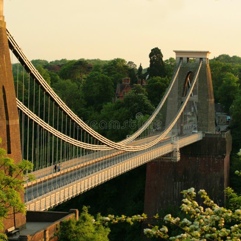 Die Clifton Aufhebung-Brücke Bristol lizenzfreies stockfoto