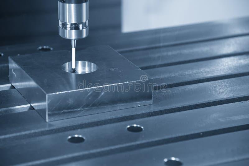 Die CNC-Maschinenbefestigung die Sonde CMM lizenzfreie stockfotografie