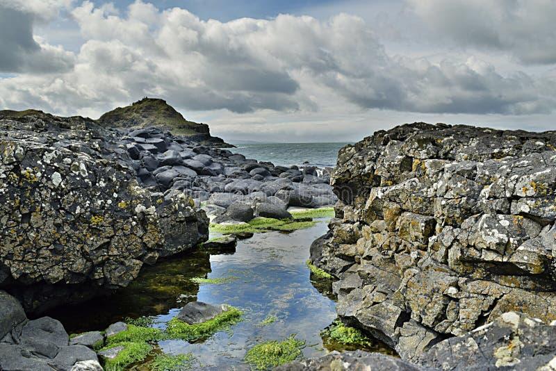 Die Damm Nordirland des Riesen stockbild