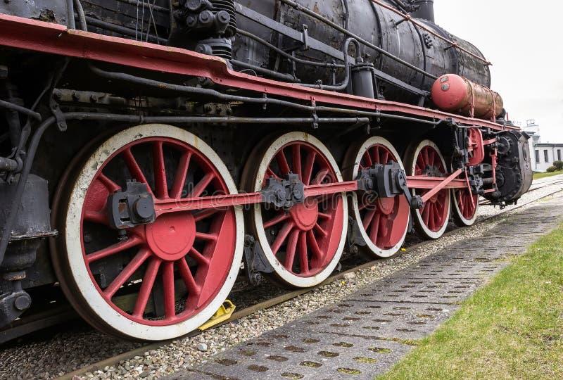 Die Dampflokomotive lizenzfreie stockbilder