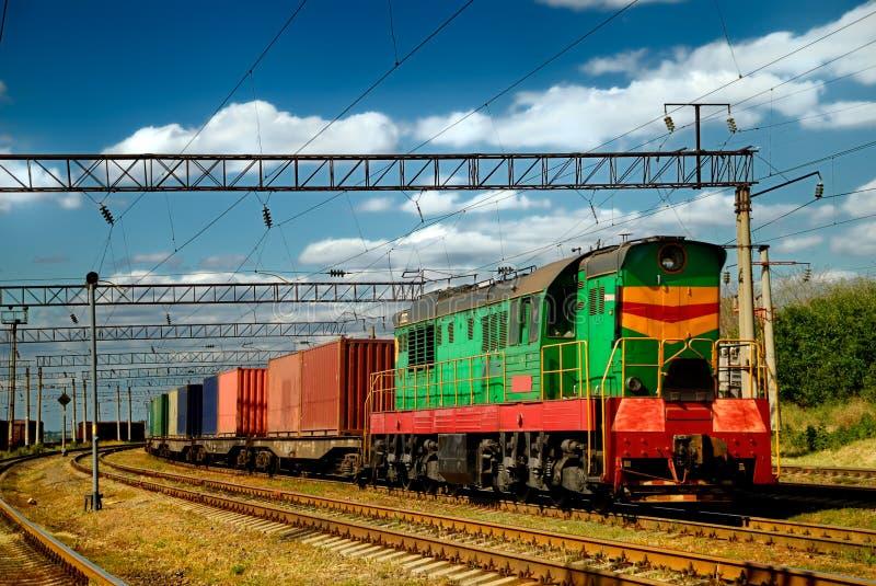 Die Dieselserie mit Lastwagen lizenzfreie stockfotografie