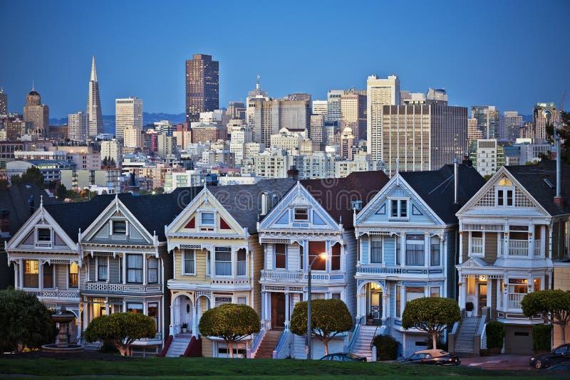 Die Distelfalter von San Francisco lizenzfreie stockfotos