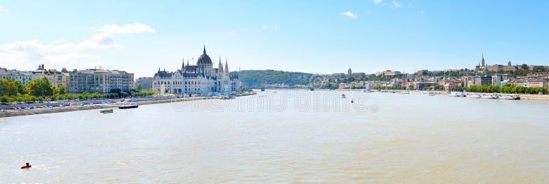 Die Donau Budapest lizenzfreies stockfoto