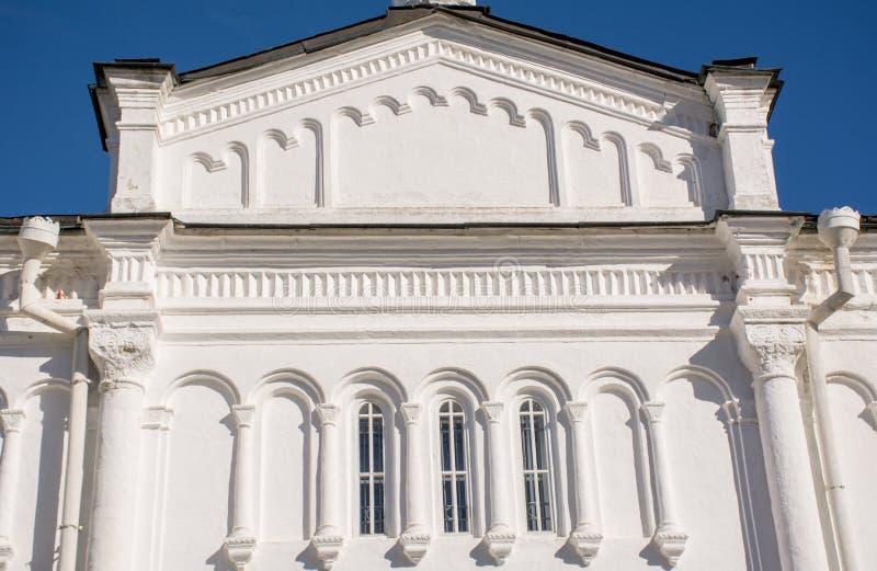 Die Dormitions-Kathedrale Vladimir-Stadt, die goldene Ringreise, Russland stockfotos