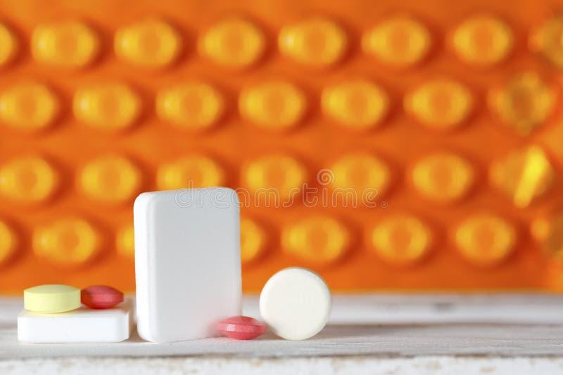 Die Dosis von Pillen stockbilder