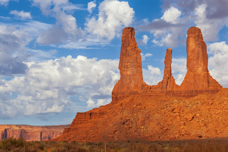 Die drei Schwestern, Monument-Tal lizenzfreie stockfotos