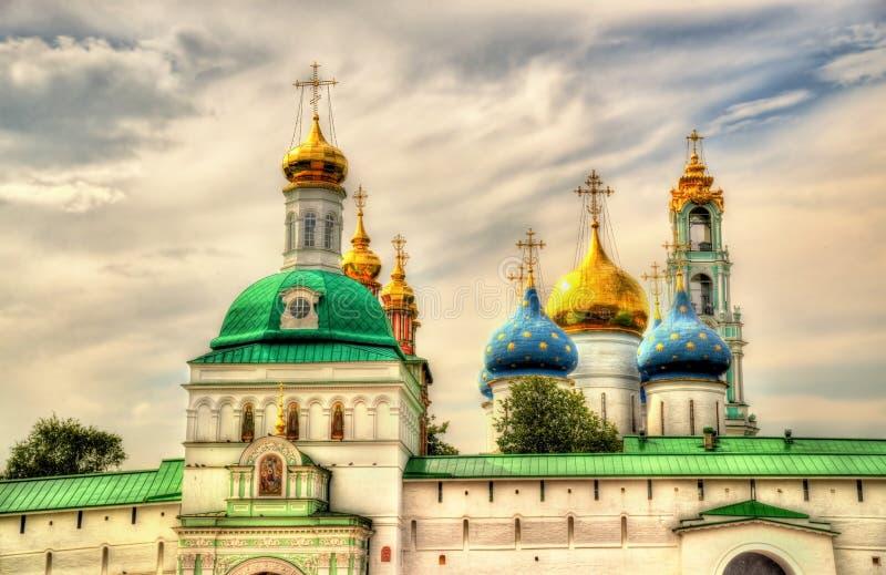 Die Dreiheit Lavra von St. Sergius - Sergiyev Posad stockfoto