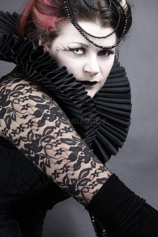 Die dunkle Königin stockfotos