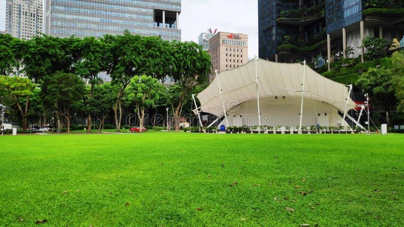 Die Ecke der Sprecher in Singapur lizenzfreies stockbild