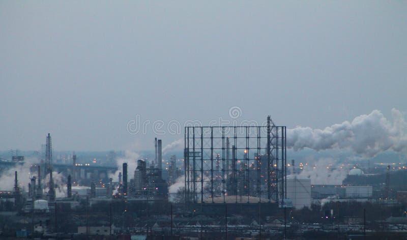 Die Effekte der Verschmutzung lizenzfreie stockbilder