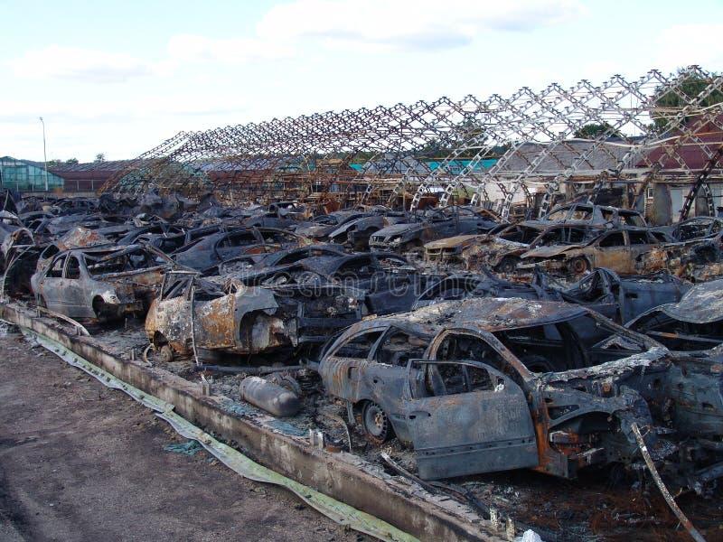 Die Effekte des Feuers lizenzfreie stockfotografie