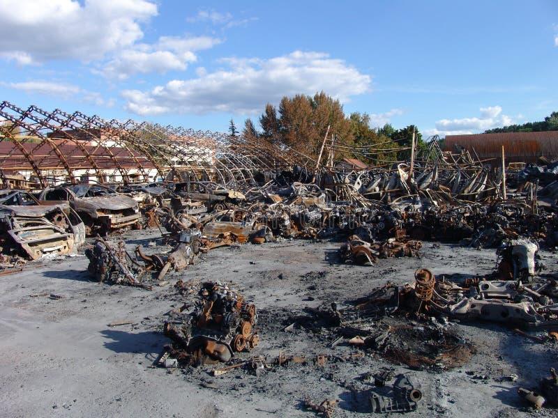 Die Effekte des Feuers lizenzfreie stockfotos