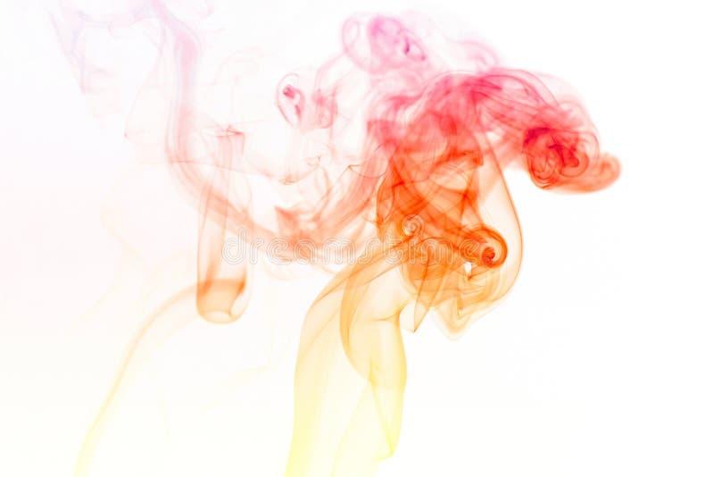 Die eleganten Muster und die Formen des Rauches stockbilder