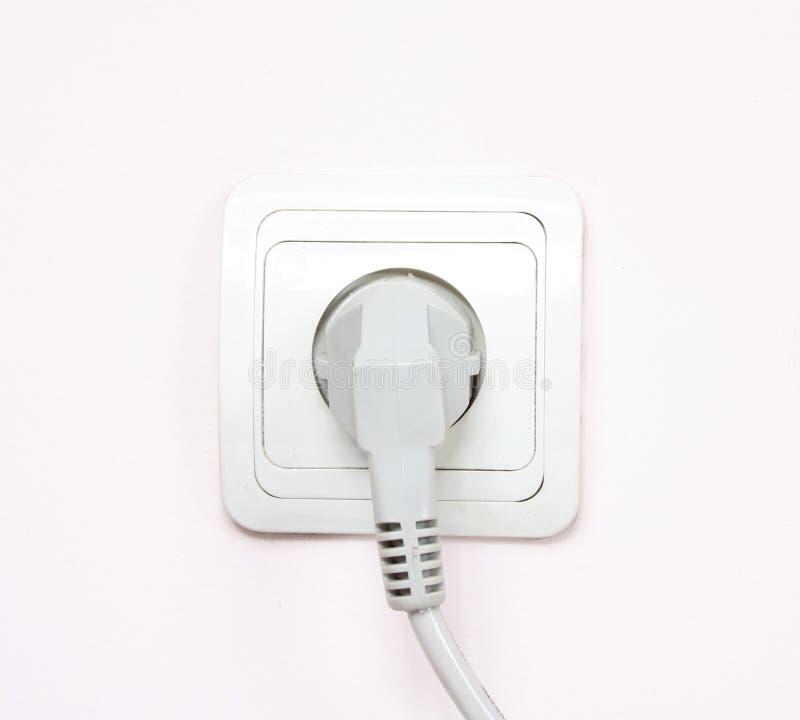 Die elektrische Einfaßung stockfotos