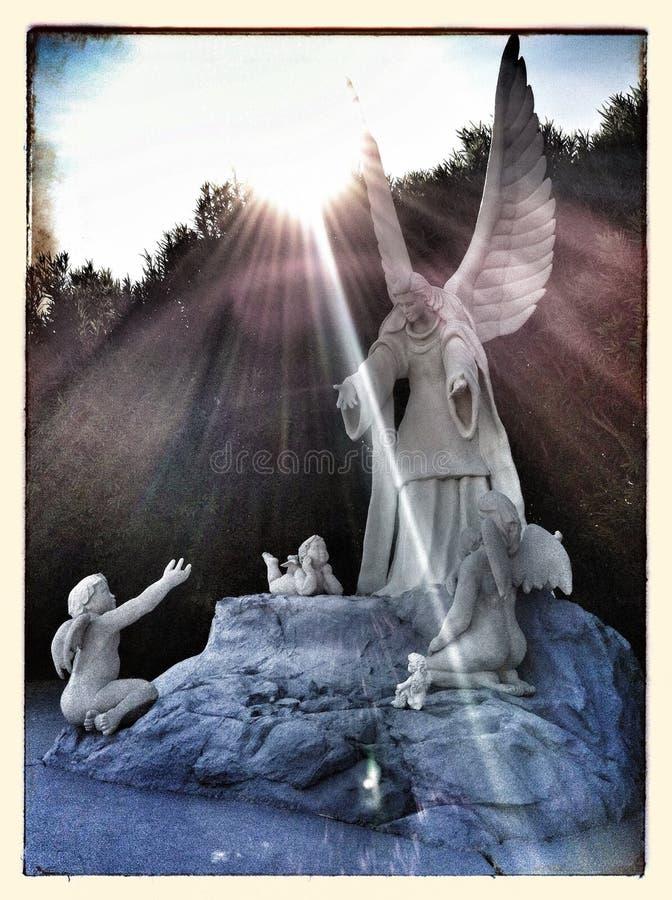 Die Engel lizenzfreie stockbilder