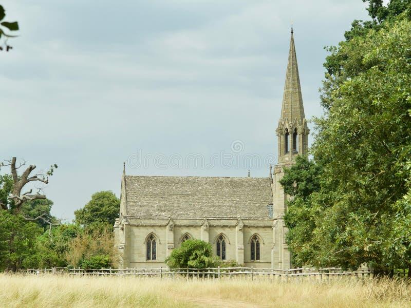 Die englische Kirche stockbilder