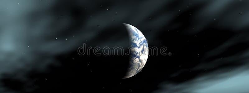 Die Erde lizenzfreie abbildung