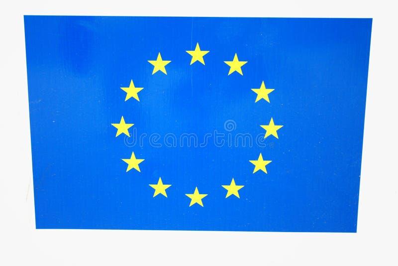 Die Europäische Gemeinschaft (EU) ist ein wirtschaftpolitischer Verband von membe 28 stockbilder