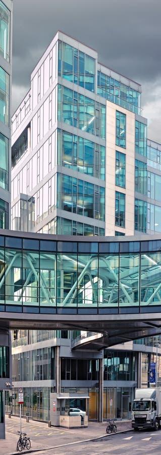 Die Europazentrale von Google auf Karren-Straße in Dublin, lizenzfreies stockbild