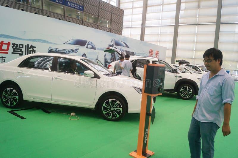 Die fünfte internationale Ladestation Shenzhens (Stapel) Technologie und Ausrüstungs-Ausstellung lizenzfreie stockfotografie