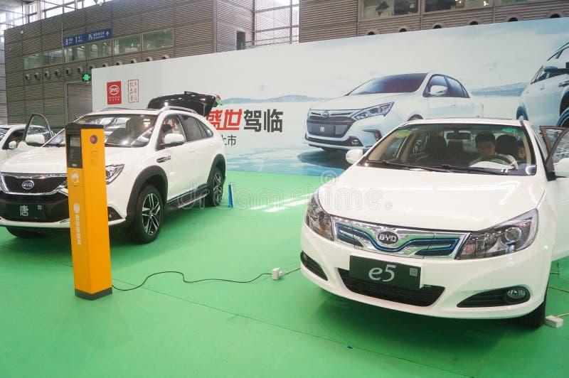 Die fünfte internationale Ladestation Shenzhens (Stapel) Technologie und Ausrüstungs-Ausstellung stockfotografie