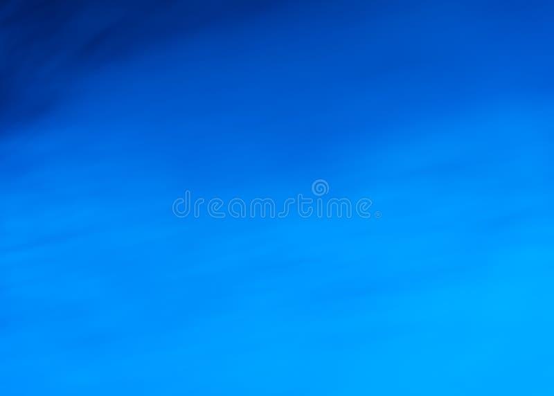 Die Facetten des Wassers im tiefen Blau lizenzfreie stockbilder