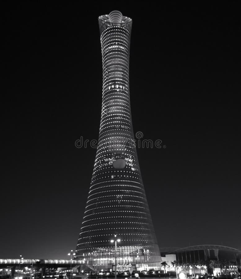Die Fackel Doha lizenzfreie stockfotografie