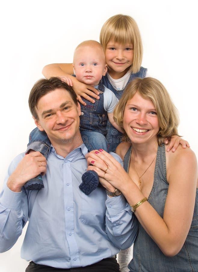 Die Familie stockbild