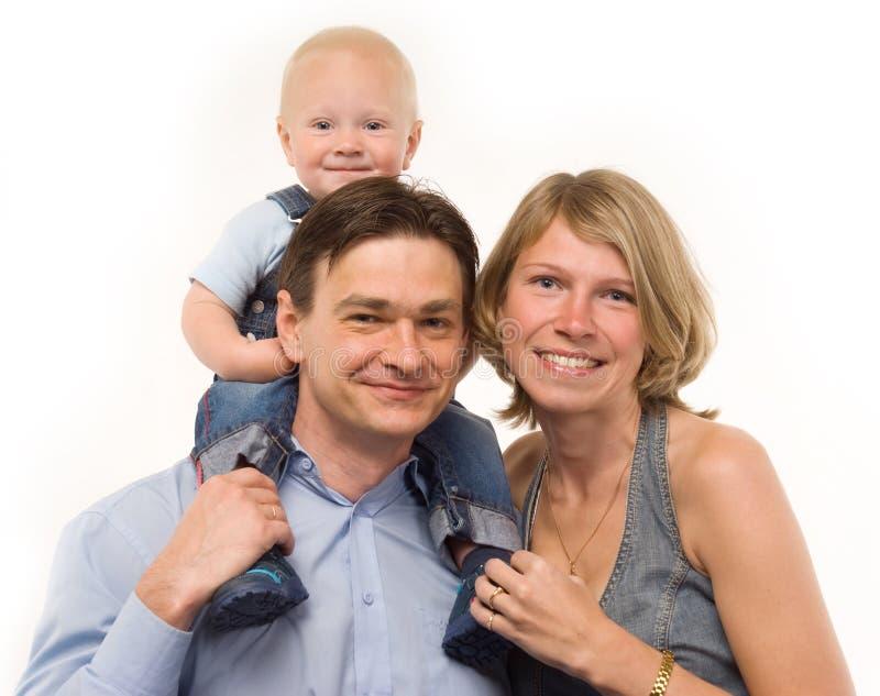 Die Familie lizenzfreie stockbilder