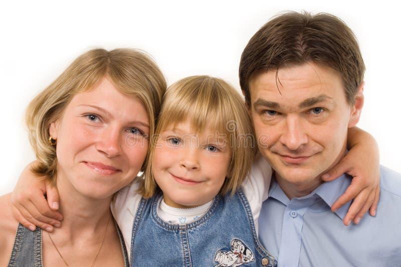 Die Familie stockfoto